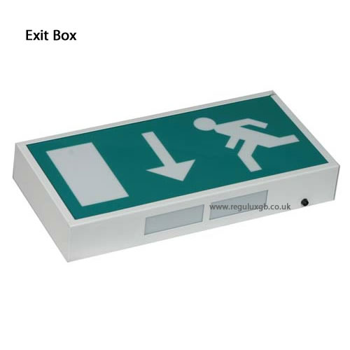Emergency lighting - Emergency Exit Box