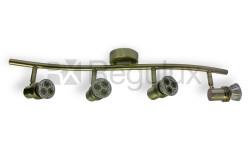 BOW4 Wavy Linear Bar Surface Mount 4xSpot 50W Max GU10