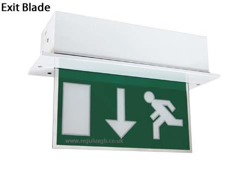 Emergency lighting - Exit Blade