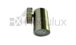 DINGO Single Wall Spotlight 316 Marine Grade Satin Silver