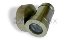 Mini Hawk 2x1w LED Stainless Steel Mini Range External Spotlights