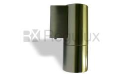 TERRIER 1 Single Fixed Wall Spotlight Hi Grade Stainless Steel Body