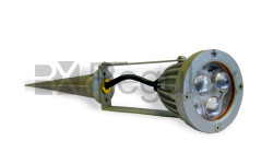 TIGERSPOT Inground Spike Spotlight with 3w High Power Luxeon LEDs