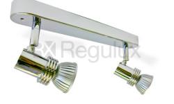 WBS2GZ10 - Linear Bar Surface Mount 2x Spot 50W Max GU10