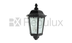 Victorian Cast Aluminium Outdoor Lantern Head Half Light