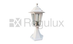 Victorian Pedestal Lantern in Cast Aluminium with B22 Lamp Base