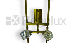 TarkaSpot6 – Ice Cube Glass Shade x6 Ceiling Light